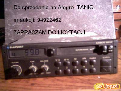 Radio Blaupunkt - TANIO sprzedam