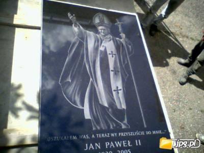 Jan Paweł 2 - JP2 - Kamień