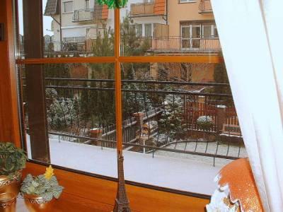Zima zza okna.
