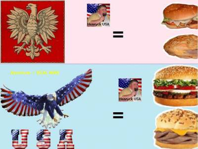 Polska vs USA - Hamburgers