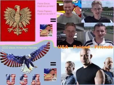 Polska and USA - Heroes - Friends - Brothers