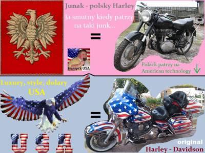 Polska vs USA - Bikes
