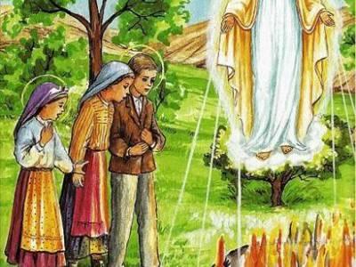 Dziewica zawsze Maryja zabija niewiernych ogniem piekielnym