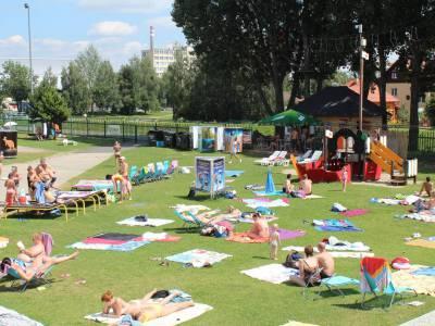 Park wodny w Popradzie na Słowacji 14