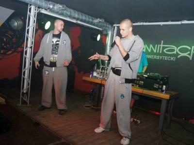 Koncert hip-hopowy w Grawitacji 6