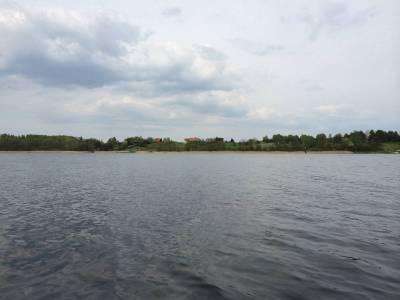 Pomosty na jeziorze Tyrkło 2