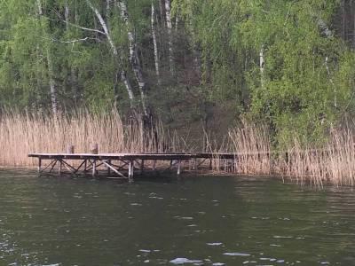 Pomosty na jeziorze Tyrkło 10