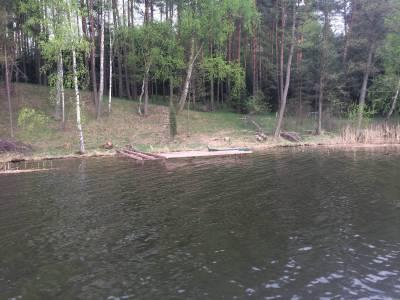 Pomosty na jeziorze Tyrkło 11