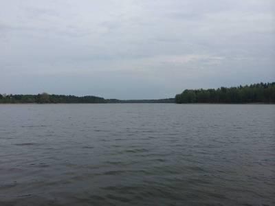 Pomosty na jeziorze Tyrkło 16