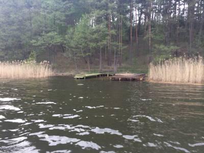 Pomosty na jeziorze Tyrkło 17