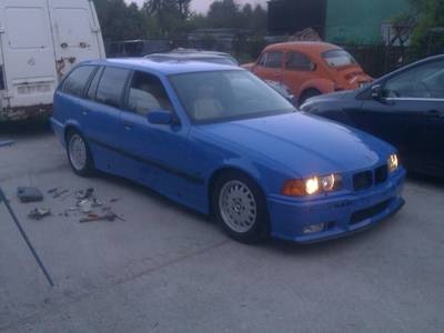 Bmw e36Touring Santorini Blue