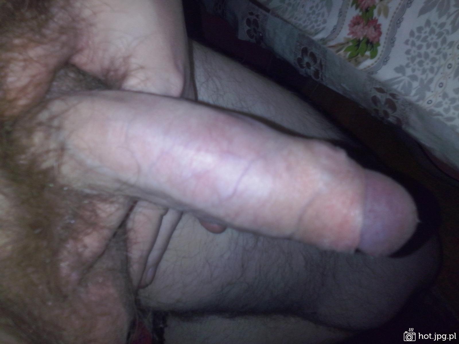gruby lub długi penis)