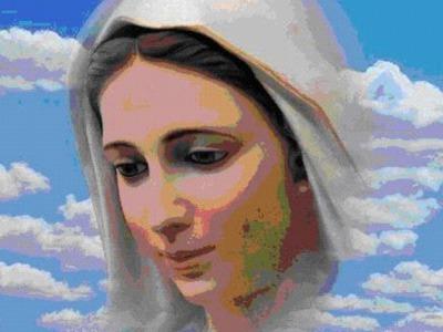 piękna panienka Maryja