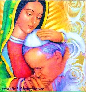 Ty Janie Pawle, to Tyś poznał sekret Maryji, tajemnicę Niepokalanego Poczęcia