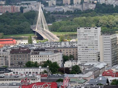Widok na Warszawę z Pałacu Kultury i Nauki 3