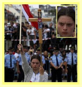 Wielka obrończyni Polskiej Spuścizny Krzyżowej