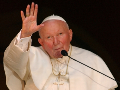 Jan Paweł II umęczon jak pod Pąckim
