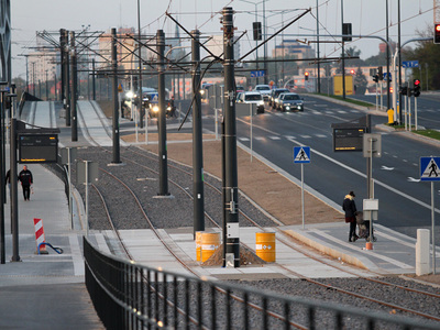 Torowisko tramwajowe w Olsztynie 41