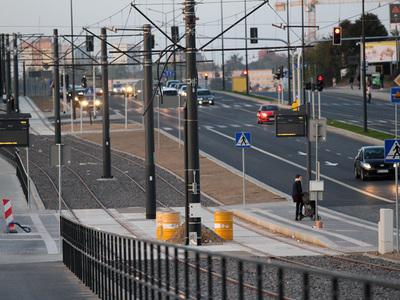 Torowisko tramwajowe w Olsztynie 42