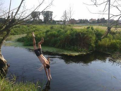 Skok do wody 1