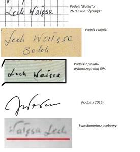 Wszystkie podpisy Bolka 1