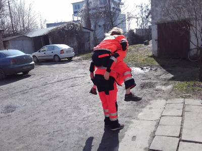 16.03.16 - kręcenie reportażu przez TVP 13