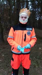 16.03.19 - cwiczenia z poszukiwań i ewakuacji w lesie 1
