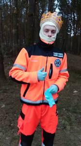 16.03.19 - cwiczenia z poszukiwań i ewakuacji w lesie 2