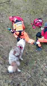16.03.19 - cwiczenia z poszukiwań i ewakuacji w lesie 10