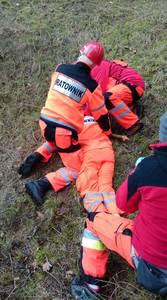 16.03.19 - cwiczenia z poszukiwań i ewakuacji w lesie 11