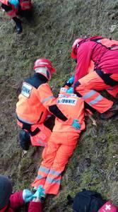 16.03.19 - cwiczenia z poszukiwań i ewakuacji w lesie 12