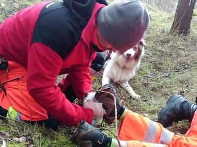 16.03.19 - cwiczenia z poszukiwań i ewakuacji w lesie 13
