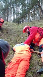16.03.19 - cwiczenia z poszukiwań i ewakuacji w lesie 14
