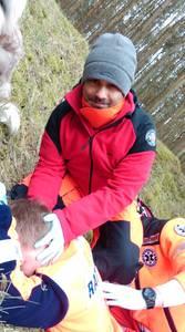 16.03.19 - cwiczenia z poszukiwań i ewakuacji w lesie 15