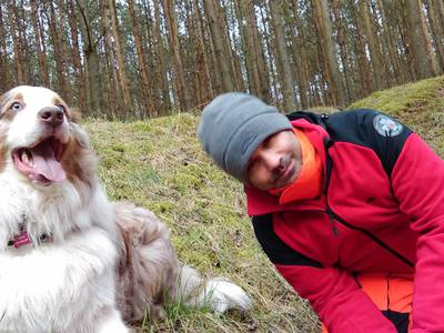 16.03.19 - cwiczenia z poszukiwań i ewakuacji w lesie 16