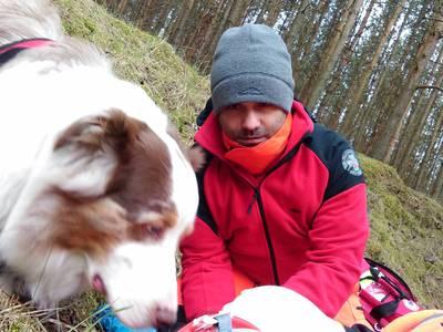 16.03.19 - cwiczenia z poszukiwań i ewakuacji w lesie 17