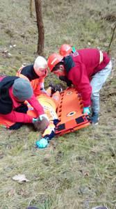 16.03.19 - cwiczenia z poszukiwań i ewakuacji w lesie 26
