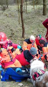 16.03.19 - cwiczenia z poszukiwań i ewakuacji w lesie 28