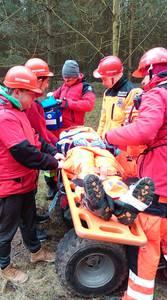 16.03.19 - cwiczenia z poszukiwań i ewakuacji w lesie 55