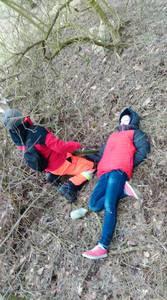 16.03.19 - cwiczenia z poszukiwań i ewakuacji w lesie 60