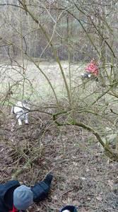 16.03.19 - cwiczenia z poszukiwań i ewakuacji w lesie 61