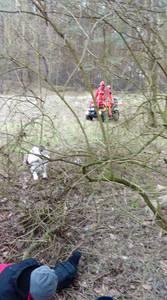 16.03.19 - cwiczenia z poszukiwań i ewakuacji w lesie 62
