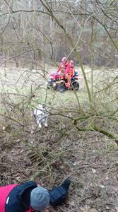 16.03.19 - cwiczenia z poszukiwań i ewakuacji w lesie 63