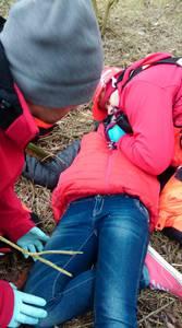 16.03.19 - cwiczenia z poszukiwań i ewakuacji w lesie 65