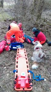 16.03.19 - cwiczenia z poszukiwań i ewakuacji w lesie 73