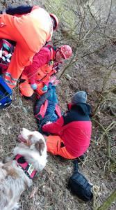 16.03.19 - cwiczenia z poszukiwań i ewakuacji w lesie 74