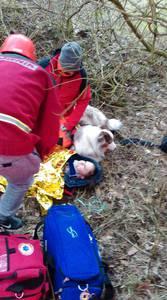 16.03.19 - cwiczenia z poszukiwań i ewakuacji w lesie 85