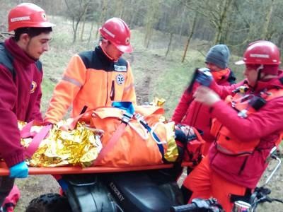 16.03.19 - cwiczenia z poszukiwań i ewakuacji w lesie 116