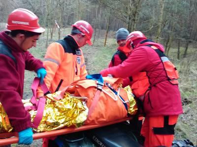 16.03.19 - cwiczenia z poszukiwań i ewakuacji w lesie 117