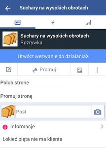 Zapraszam na strone na facebooku